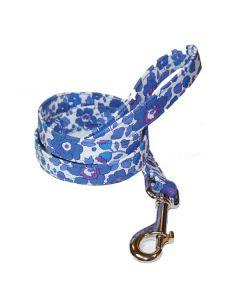 Liberty Betsy blue Hundeline - 2 cm bred