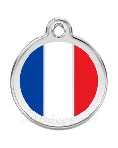 Hundetegn Fransk flag medium