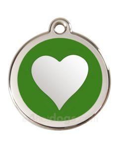 Hjerte Large-Grøn