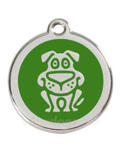 Hund large-Grøn