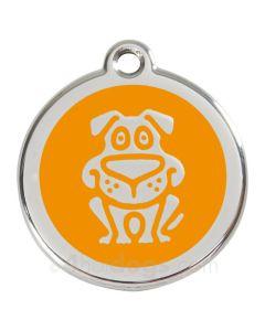 Hund large-Orange