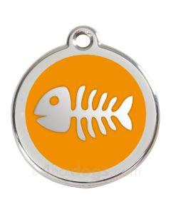 Fiskeben large-Orange