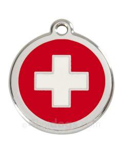 Hundetegn Swiss Cross medium